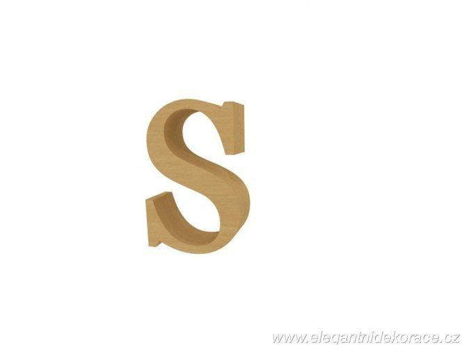 písmeno S Georgia