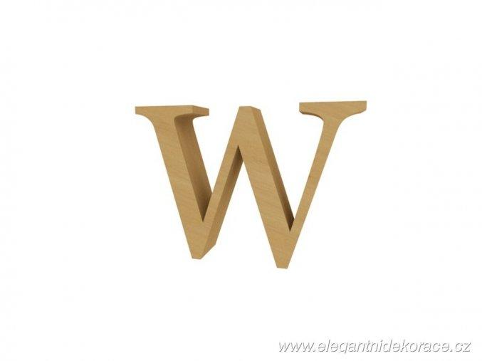 písmeno W Georgia