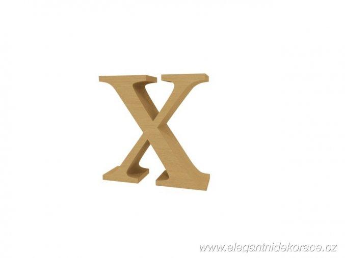 písmeno X Georgia