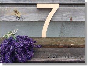 Číslo 7 - multiplex přírodní Ariel