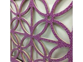 detail panelu flora