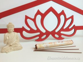 červený lotos ramínko 5