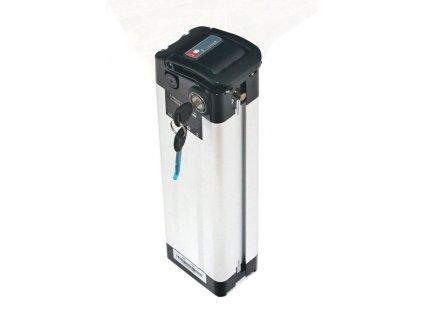 stříbrná baterie svislá