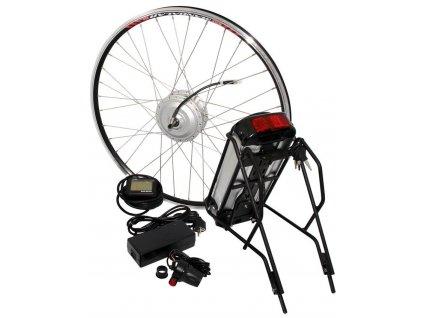 Sada pro přestavbu běžného jízdního kola na elektrokolo