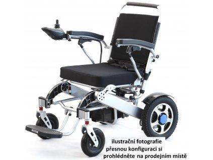 Elektrický snadno skladný invalidní vozík Selvo i4500