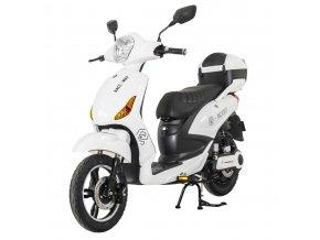motoe moped bílá