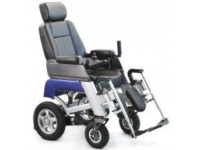 Elektricky polohovatelný robustní invalidní vozík Selvo i4600E