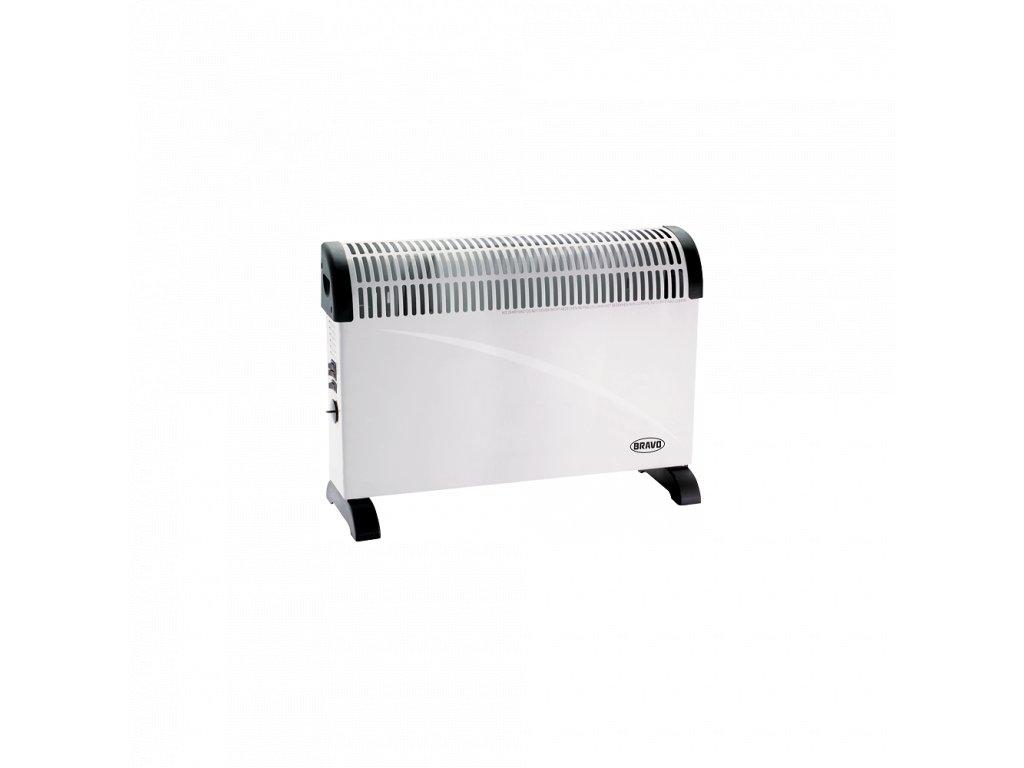 Konvektor Bravo B-4467 2000W s termostatem a ventilátorem