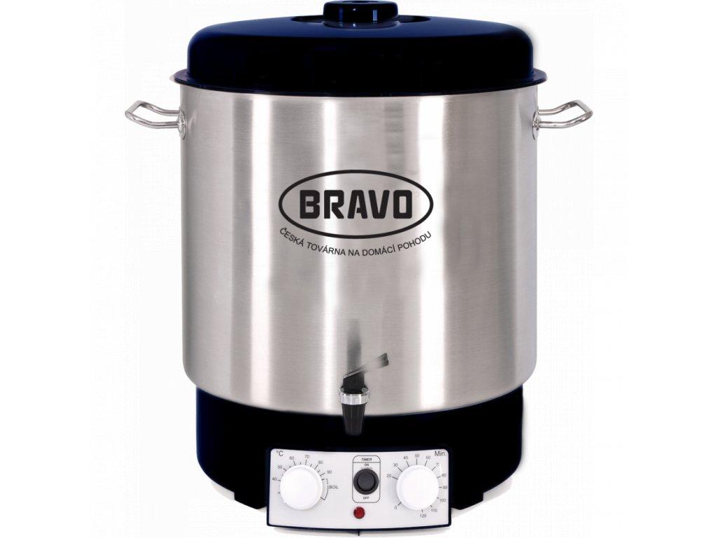 Zavařovací hrnec Bravo B-4515 plně automatický, nerez
