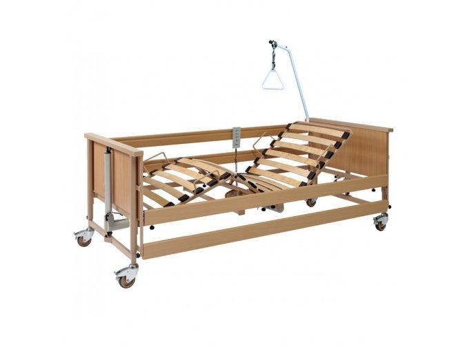 Polohovací postel casa classic light