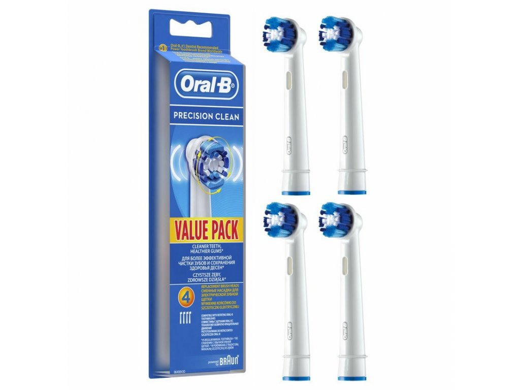 Oral-B Precision Clean náhradní hlavice 4ks