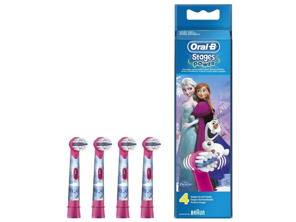 Oral-B Kids Frozen náhradní hlavice 4 ks