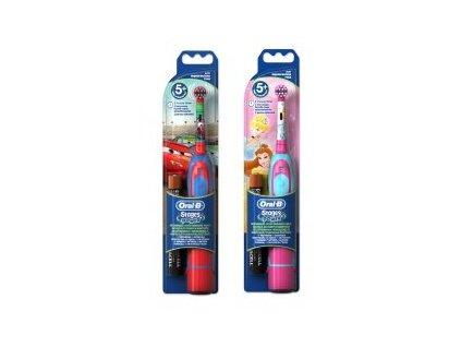 Oral-B D2 Stages Power dětský bateriový kartáček s motivem princezny