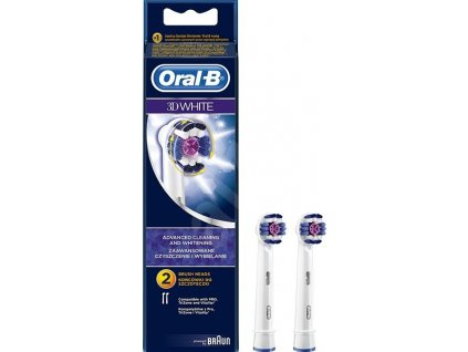 Oral-B 3D White náhradní hlavice 2ks (EB18-2)