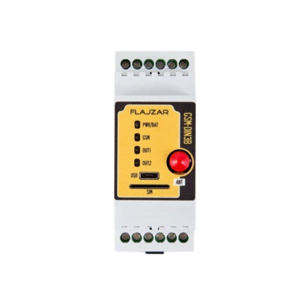 GHSM komunikátor - spínač DIN3