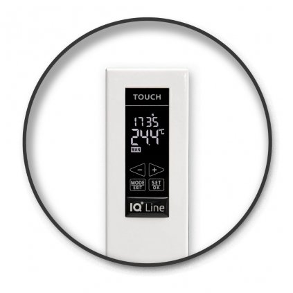 Elektrický radiátor IQ Line TOUCH 1500 AL