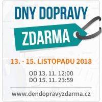 Dny dopravy zdarma 13. – 15. 11. 2018