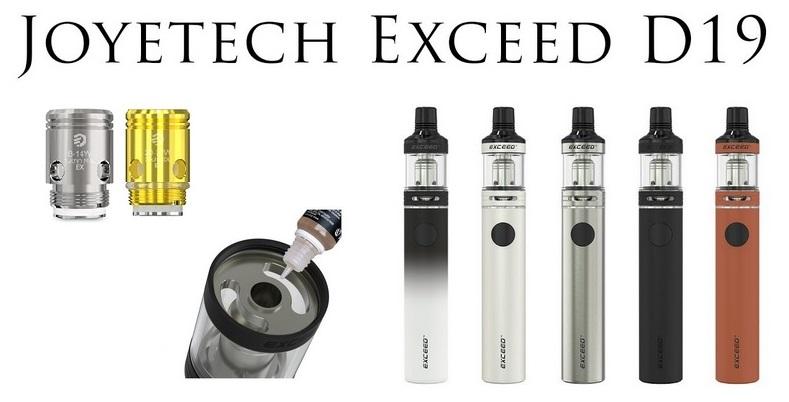 Elektronická cigareta Joyetech EXCEED D19
