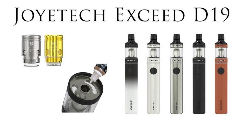 Elektronická cigareta Joyetech EXCEED D19 1500mAh - Náš TIP
