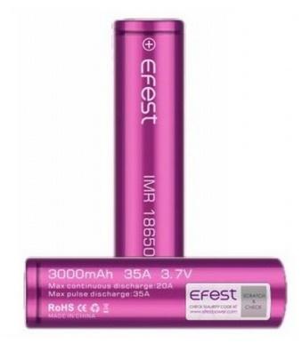 Bateriové články typ 18650