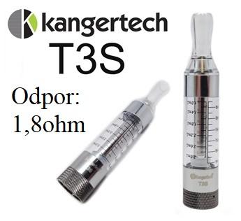 Clearomizér KangerTech T3S