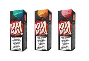 E-liquidy ARAMAX 10ml ovocné a ostatní