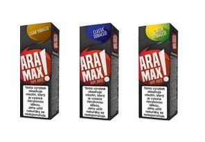 E-liquidy ARAMAX 10ml tabákové