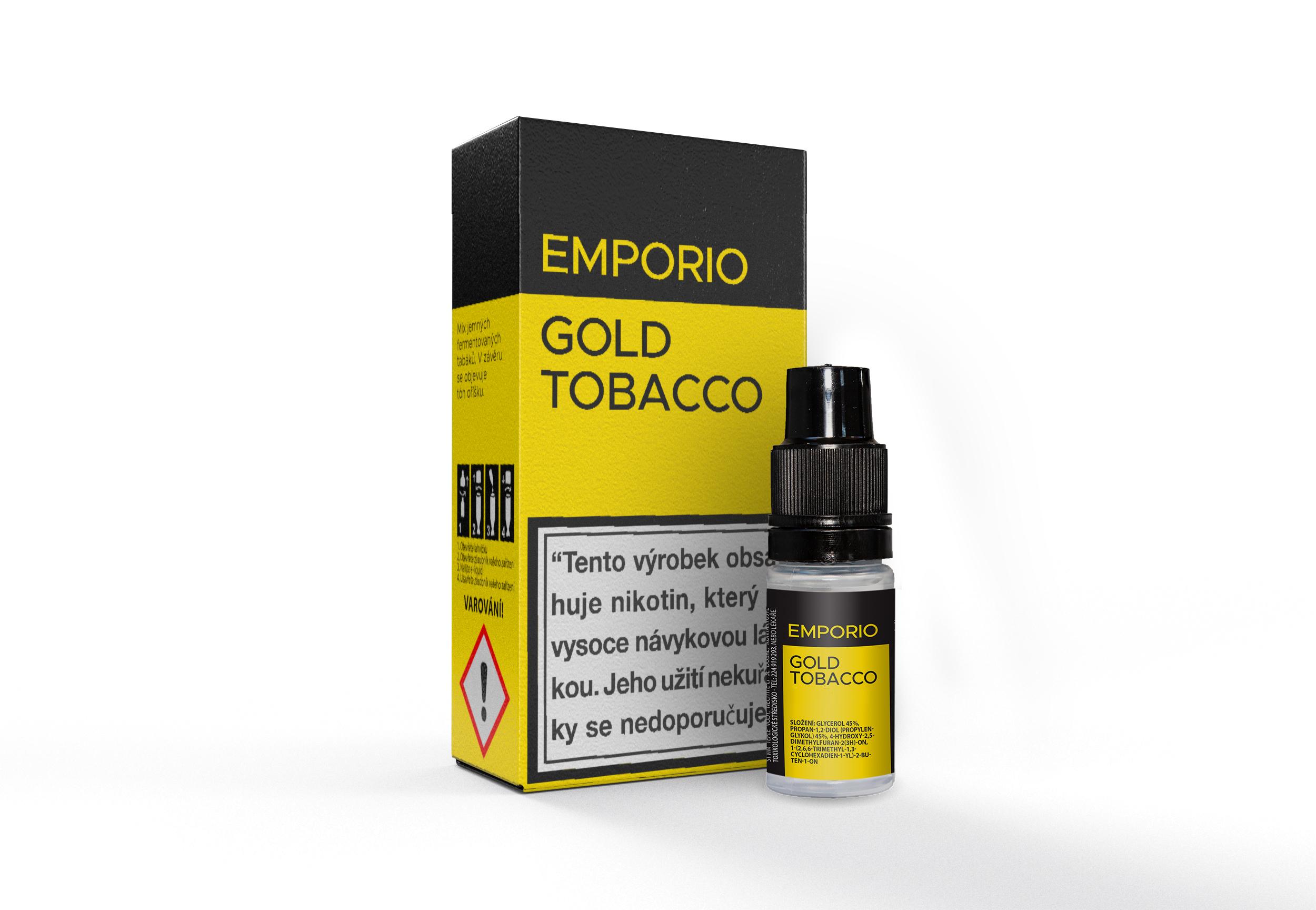 E-liquid Emporio BASIC tabák