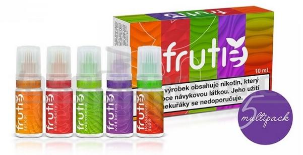E-liquidy Frutie Variety Pack 5x10ml