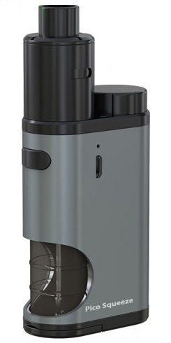 iSmoka-Eleaf Pico Squeeze Coral Grip Full Kit