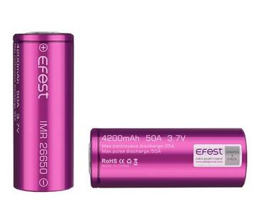 Bateriové články typ 26650
