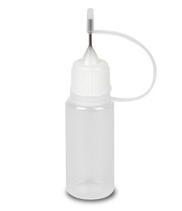 Plnící lahvičky měkké s jehlou