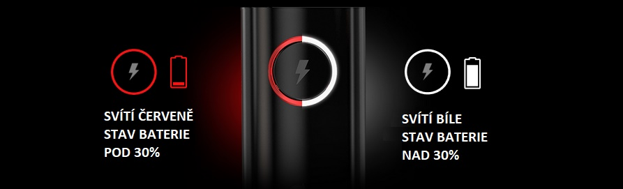 aramax-power-ukazatel stavu baterie