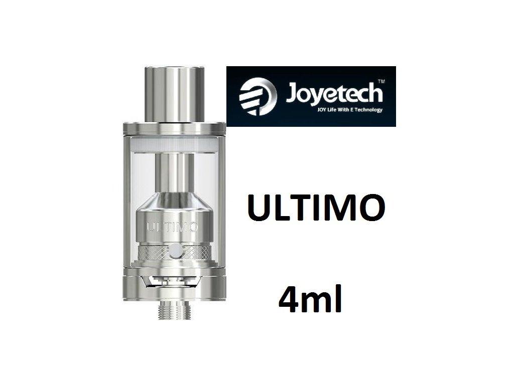Joyetech ULTIMO Clearomizér 4ml stříbrný