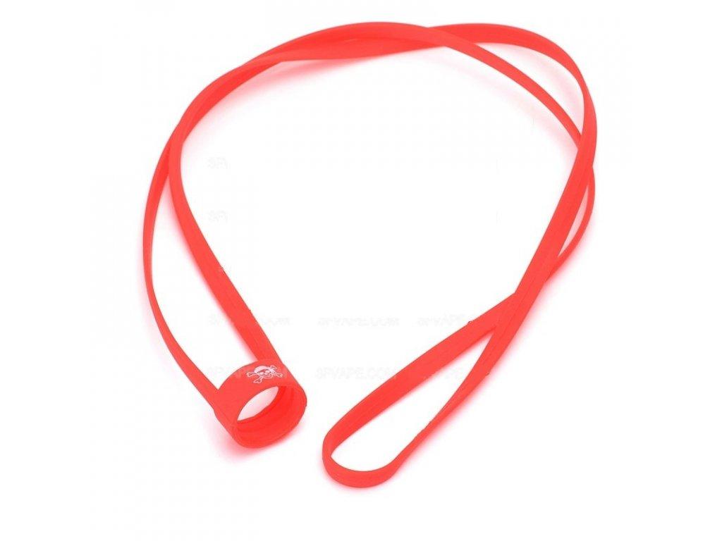 univerzalni gumova snurka na krk cervena cerveny ... 06d91d811d2