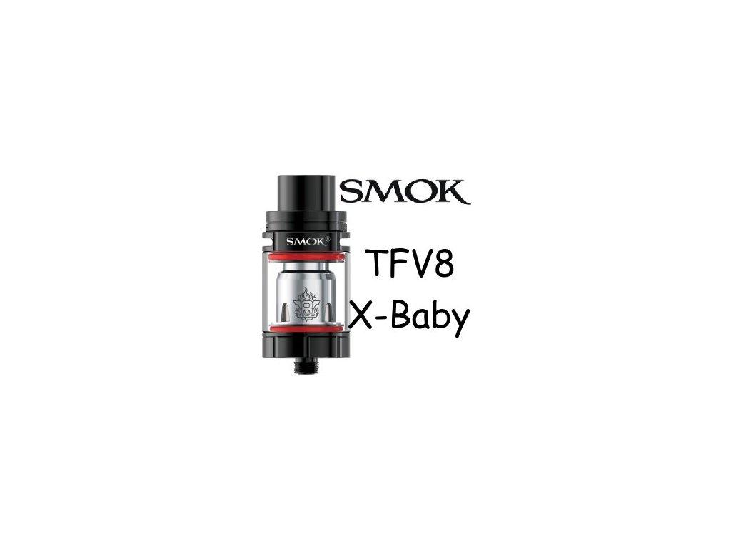 Smoktech TFV8 X-Baby černý