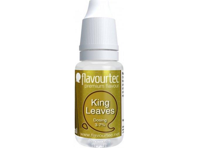 prichut flavourtec king leaves 10ml kralovsky tabak
