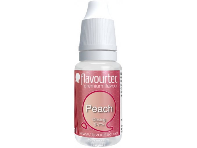 prichut flavourtec peach 10ml broskev
