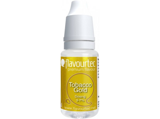 prichut flavourtec tobacco gold 10ml zlaty tabak
