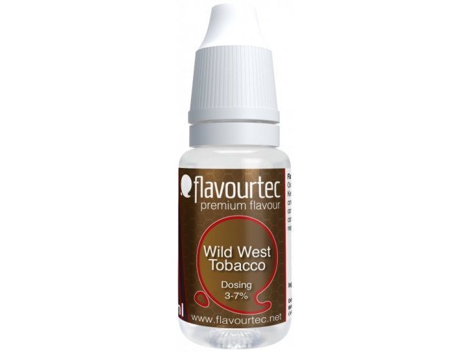 prichut flavourtec wild west tobacco 10ml klasicky americky tabak
