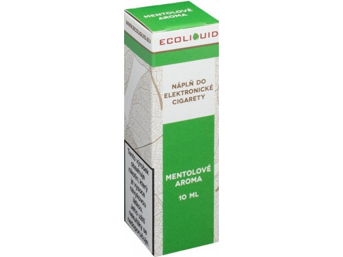 e liquid ecoliquid menthol 10ml