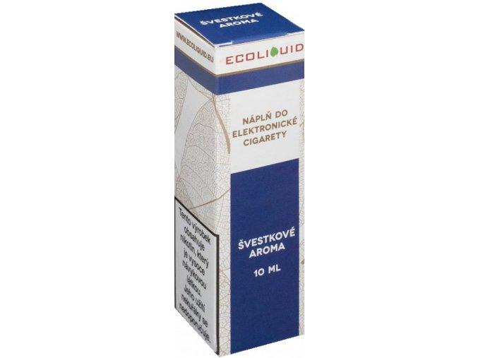 e liquid ecoliquid plum 10ml svestka
