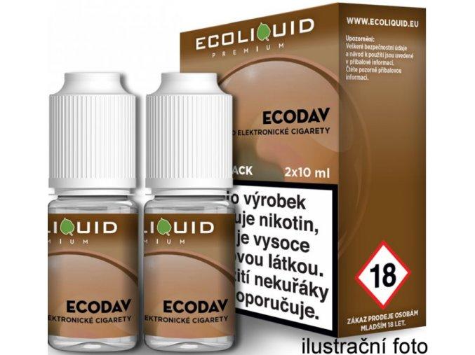 e liquid ecoliquid premium 2pack ecodav 2x10ml