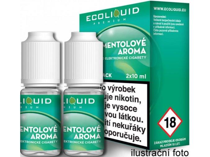 e liquid ecoliquid premium 2pack menthol 2x10ml
