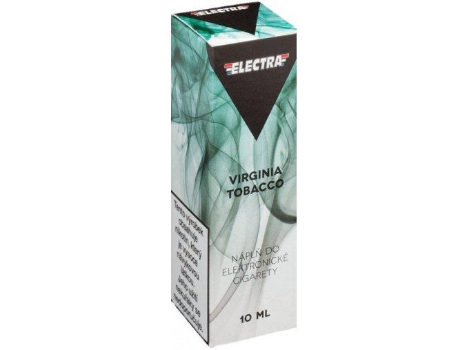 e liquid electra virginia tobacco 10ml