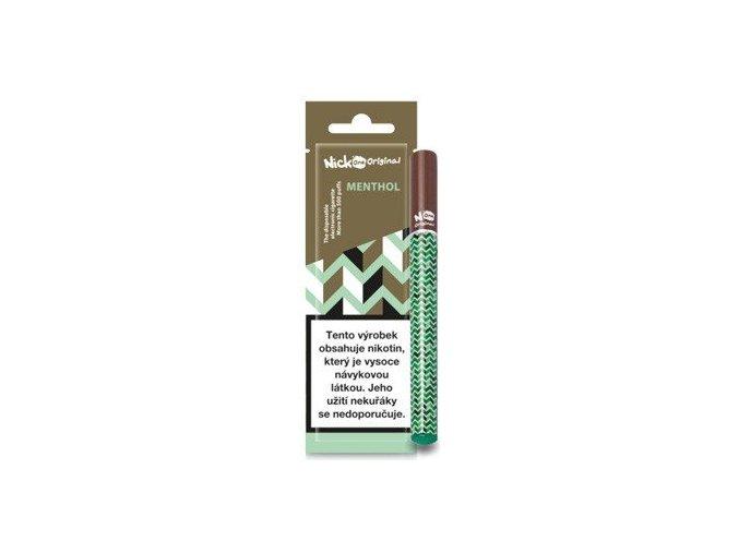 nick one original jednorazova elektronicka cigareta menthol mentol 16mg