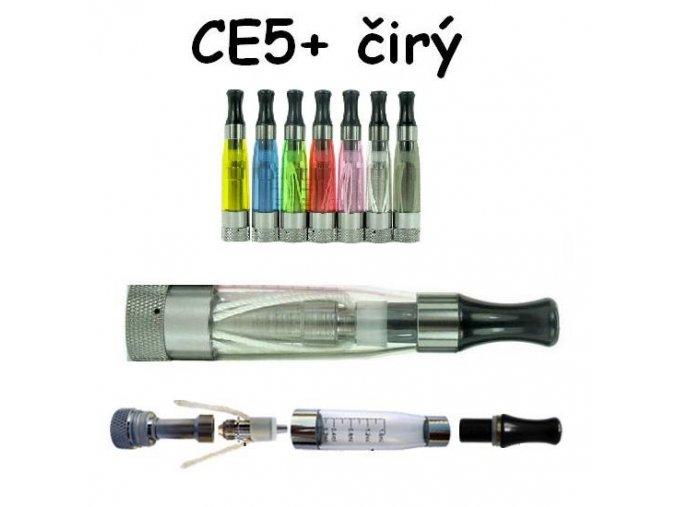Clearomizér CE5+ čirý s dlouhým knotem