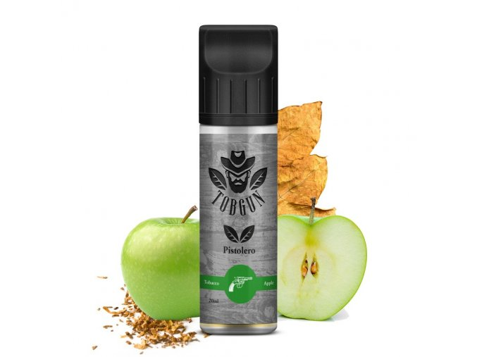 tabakova prichut tobgun pistorelo shake and vape 20ml