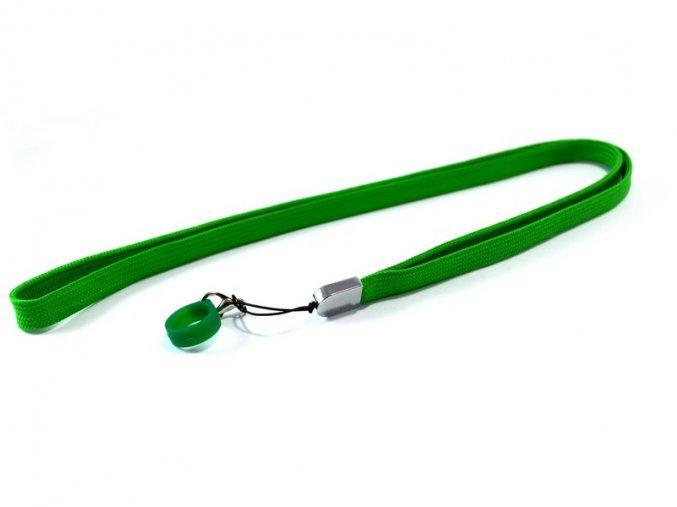 Šňůrka na krk pro elektronické cigarety eGo (zelená)