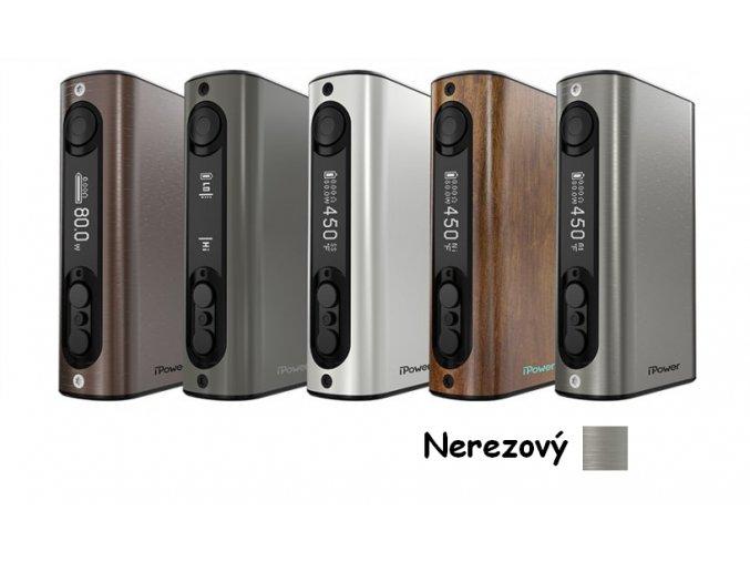 iSmoka-Eleaf iPower TC 80W grip 5000mAh nerezový